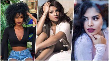 Megan Milan and Priyanka Chopra looks alike pook