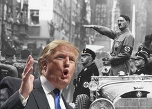 Donal Trump compare to Hitler-pook
