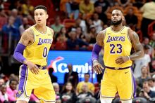 Los Angeles Lakers' LeBron James, Kyle Kuzma have been warned by NBA for violating anti-flopping rule